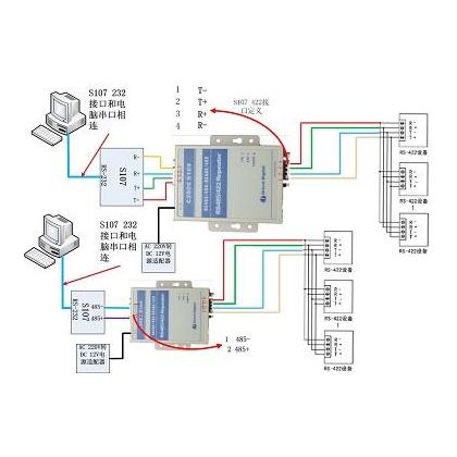 RS485中继器 信号放大器 485总线延长器