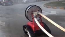 排烟机器人