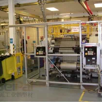 铝型材 工业铝型材 上海贝派工业铝型材 工业铝型材围栏