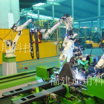 搬运车架机器人自动化焊接