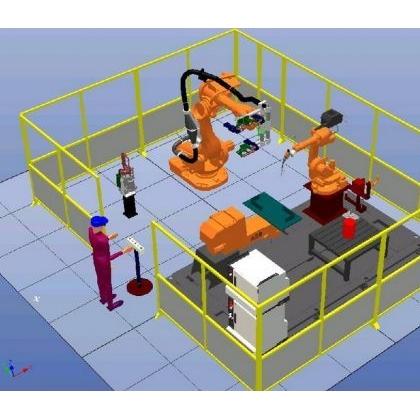 工业机器人围栏  铝型材工业围栏 铝型材防护栏 铝型材安全防护栏