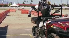 仿人机器人失败
