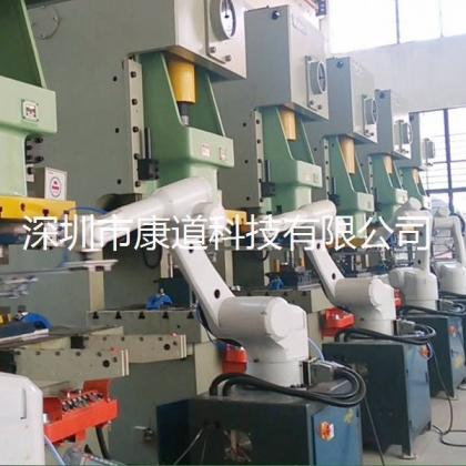 机加工自动化生产线,机床机械手,上下料机器人