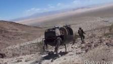 美军军用机器人Boston Dynamics LS3最新测试视频