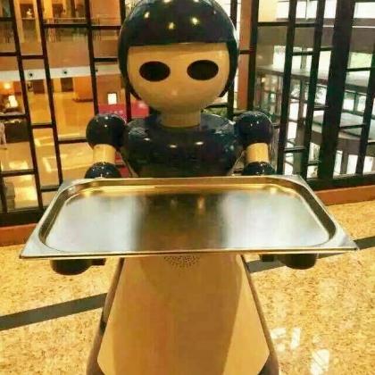 广州 送餐机器人 餐饮服务机器人