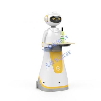 送餐机器人*兆维机器人*餐厅机器人