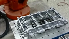 缸体压铸件去毛刺机器人