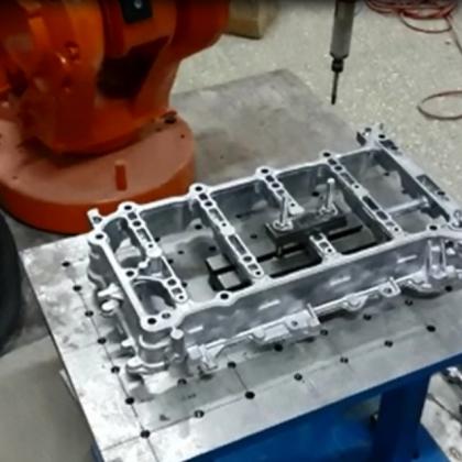 缸体铸件去毛刺机器人