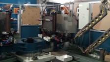 亨龙中频点焊机器人系统