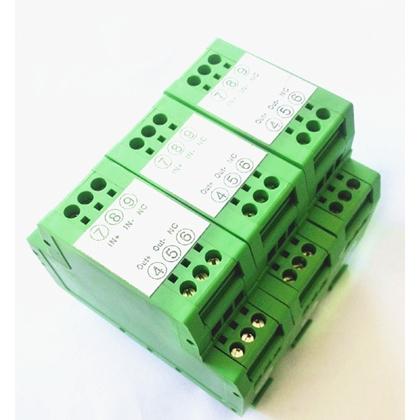 导轨安装,0-5V转4-20MA电压变送器