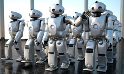 机器人取代重复劳动工作 有利提升人类创新