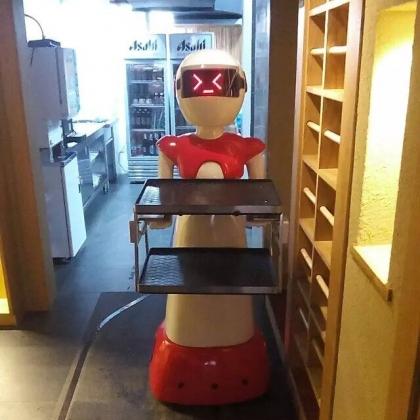 餐厅机器人都有什么啊 怎么样啊来卡特服务机器人 餐厅机器人