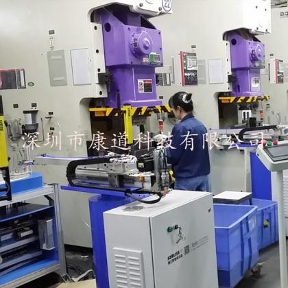 冲压机器人,冲压自动化机械手,冲床自动化厂