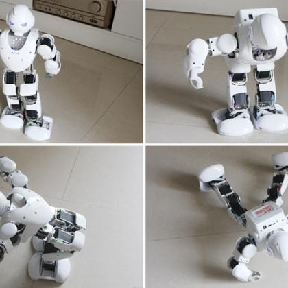 智能跳舞机器人。