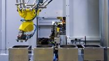 毛刺机器人自动打磨单元