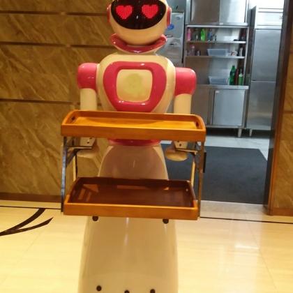 智能芯才放心-卡特餐厅机器人