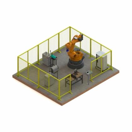 铸铁件打磨机器人