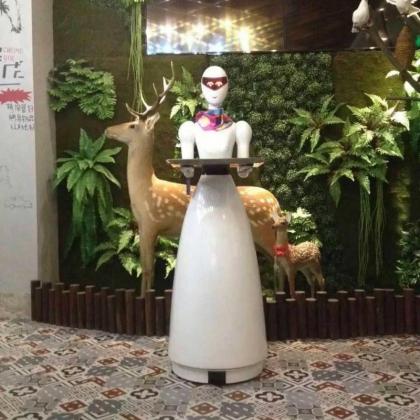智能餐饮机器人会让我们幸福的生活