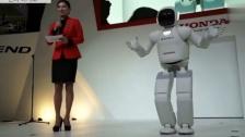 2016韩国首尔车展本田HONDA最新智能机器人现场表演[高清]