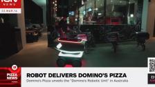 Domino公司制造的机器人在澳洲派送披萨