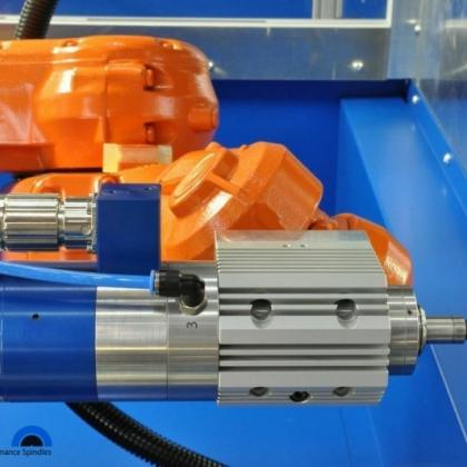 德国品牌Jager瑞士ABB机器人配套高频磨削雕铣电主轴