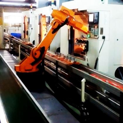 机床冲床上下料机器人锻造锻压机器人