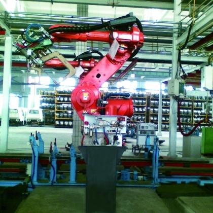 机器人点焊系统