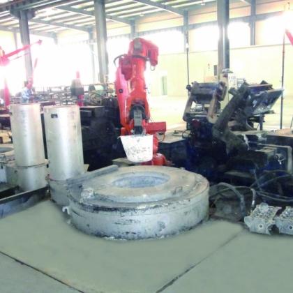 浇铸机器人系统