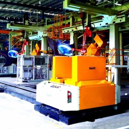 X架机器人焊接生产线
