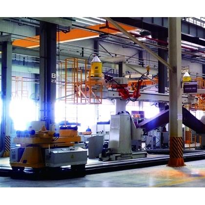 动臂机器人焊接生产线