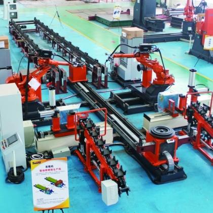 驱动桥机器人焊接生产线