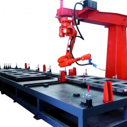 重卡车部件机器人焊接系统