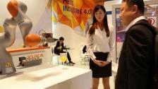 KUKA机器人@2015韩国创意经济博览会
