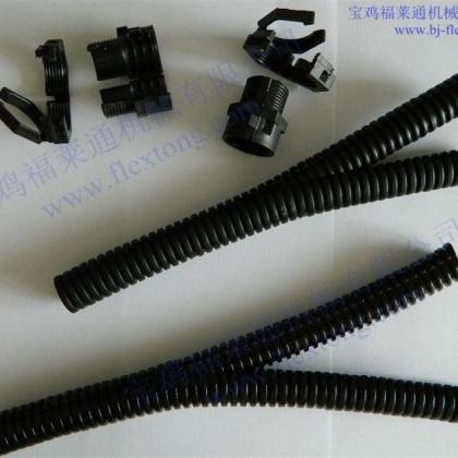福莱通机器人专用双开口尼龙软管 穿线缆用软管 优质
