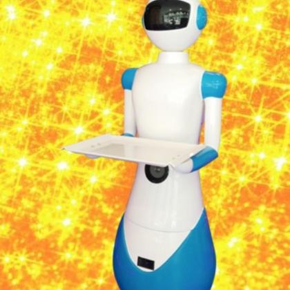 青岛送餐、领位机器人