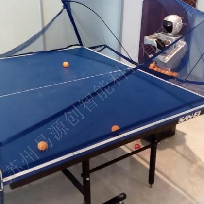 乒乓球互动机器人出租
