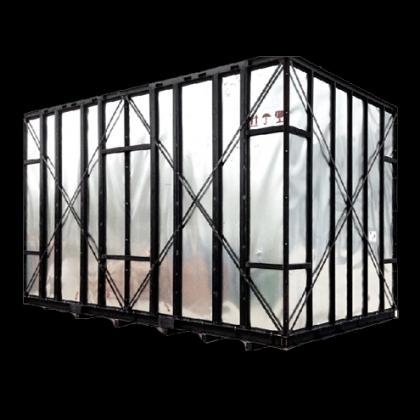 重型日式铁密箱