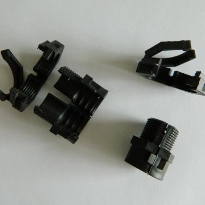 福莱通可打开式尼龙软管接头 自锁式尼龙蛇皮管接头