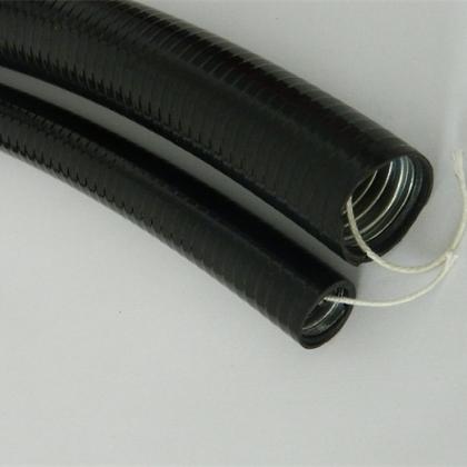 嵌棉线包塑金属软管,抗拉抗压平包塑防水穿线管DN25