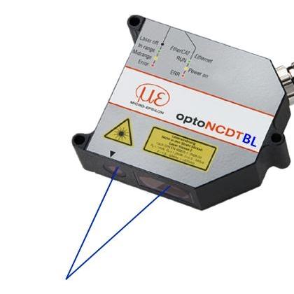 optoNCDT2300BL蓝光激光三角反射式位移传感器
