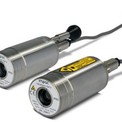 德国IMPAC红外测温仪 便携式红外测温仪 铸造专用 IGA5