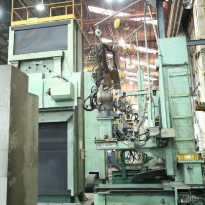 9成新韩国二手工业机器人焊接线转体转让