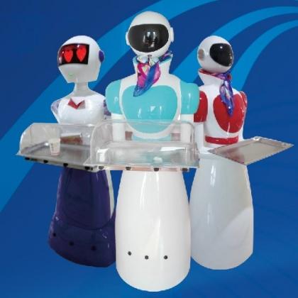 餐厅机器人送餐迎宾机器人餐饮行业机器人饭店酒店传菜机器人
