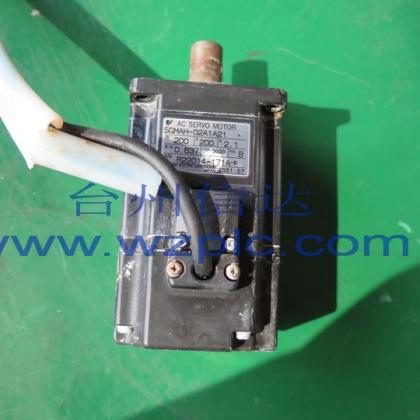 二手安川伺服电机SGMAH-02A1A21 保修6个月