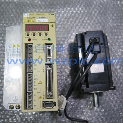 二手安川伺服电机SGMAH-08AAA21/41/61 SGDM-08ADA