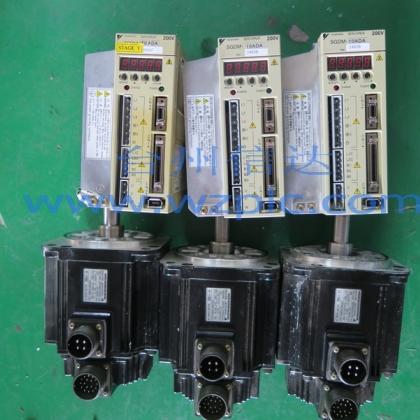 二手安川伺服电机SGMGH-09ACA21 SGDM-10ADA