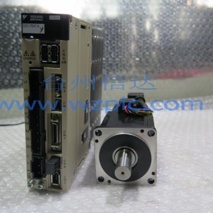 二手安川伺服电机SGMJV-04ADA21 SGDV-2R8A11A
