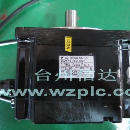 二手安川伺服电机SGMPH-08A1A21/61