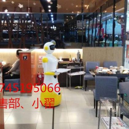 餐厅机器人入驻德记港茶餐厅送餐机器人传菜机器人成为餐厅的特色引围观