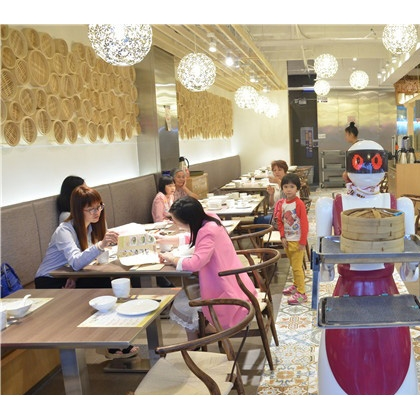 深圳餐饮酒店餐厅机器人服务员价格